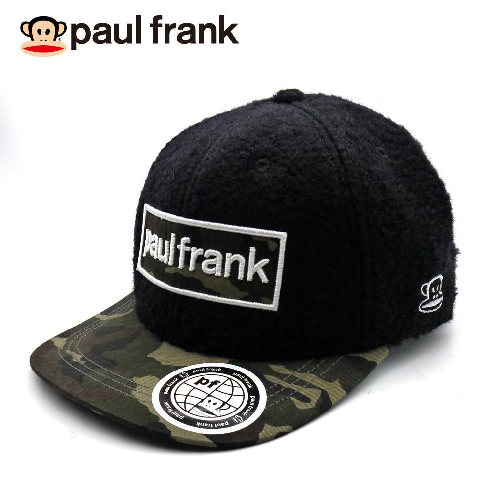paul frank 毛呢迷彩棒球帽 P863004