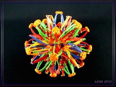 【樂達玩具】運動玩具~伸縮魔術球 放大球 可變大變小 #661