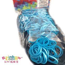 【BabyTiger虎兒寶】Rainbow Loom 彩虹編織器 彩虹圈圈 300條 補充包 - 金屬藍色