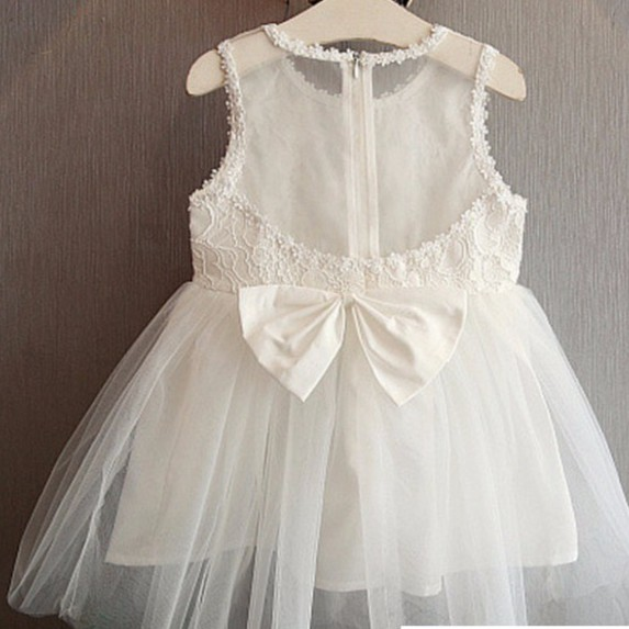 母嬰 新款韓版童裝 女寶寶潮女童蕾絲拼接女童連衣裙 背心裙 休閑牛仔小洋裝母婴