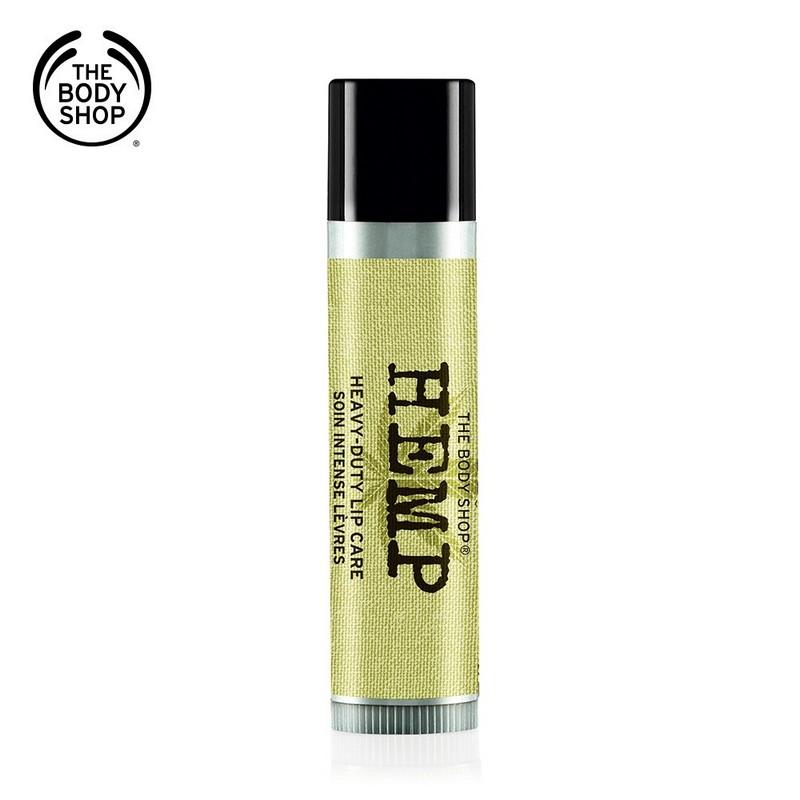 【THE BODY SHOP】大麻籽密集修護護唇膏-4.2G