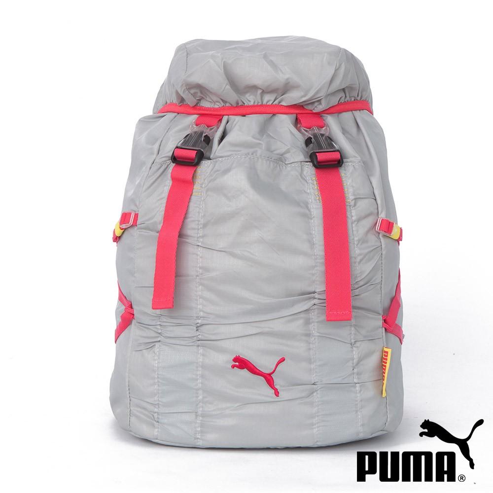 PUMA Fitness掀帽插扣式 束口後背包 背包 包包 06989804