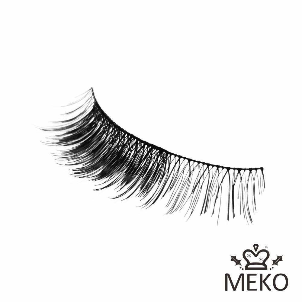 Queen 輕雙層假睫毛 No.6 AA-063 MEKO風格美妝
