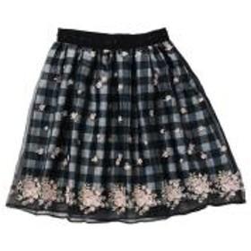 フェアリーフラワーギンガムスカート / mille fille closet【お取り寄せ商品】