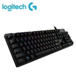 【Logitech 羅技】G512 RGB 機械遊戲鍵盤 (青軸) 【贈冬日暖暖貼】