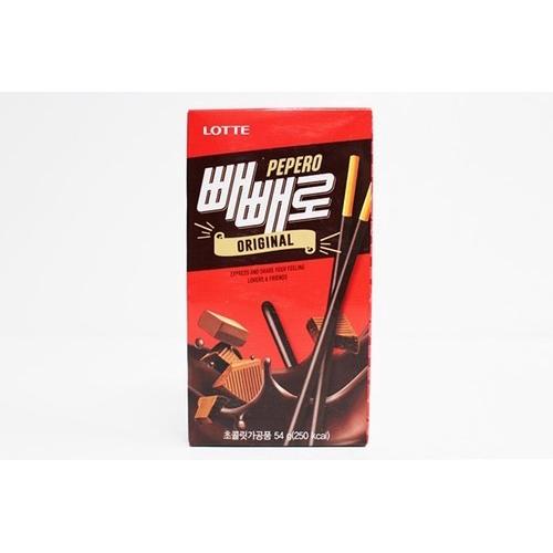 [LOTTE樂天] 原味Pepero巧克力棒 54g [韓國直送]