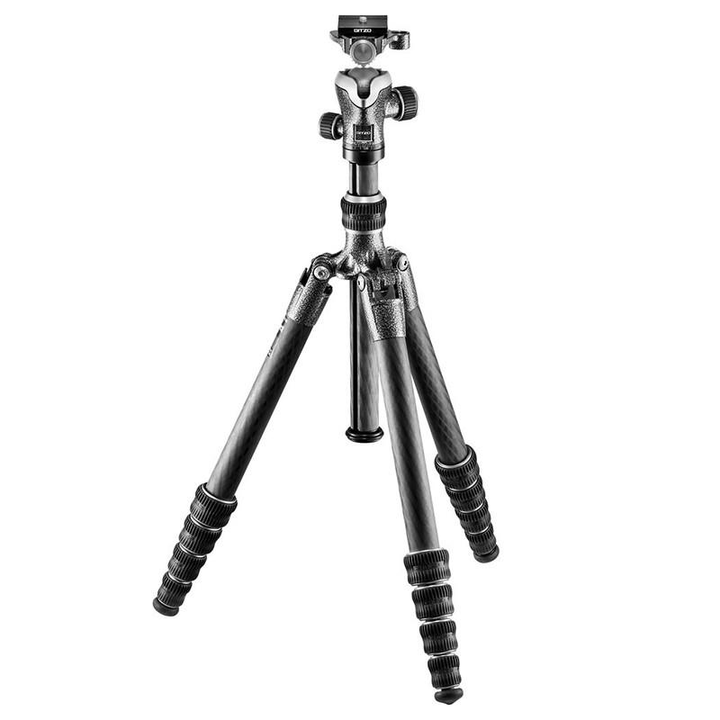 送拭鏡紙 Gitzo Traveler eXact GK1555T-82TQD 碳纖維旅行家三腳架套組 相機專家 公司貨