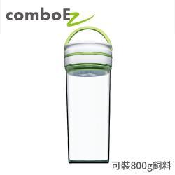 智能真空保鮮罐 1.8公升 小瓶口 (粉/藍/綠) 保鮮防潮 飼料桶首選 自動偵測罐內空氣