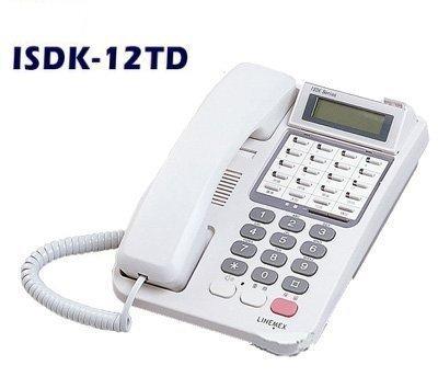 下殺! 聯盟總機電話 ISDK-12TD/顯示型話機/台灣生產/公司貨/ 國際牌電話系統 東訊電話總機【廠辦專案優惠中】