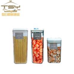 TSY歐日廚房臻品 壓克力儲物罐3件組