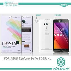 【NILLKIN】 ASUS Zenfone Selfie ZD551KL 超清防指紋保護貼 - 套裝版