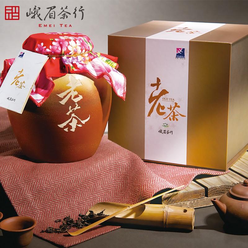 【峨眉茶行】峨眉典藏老茶禮盒(600g/盒)