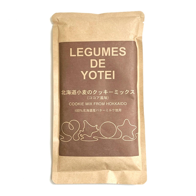 日本LEGUMES DE YOTEI - 北海道餅乾預拌粉-可可-效期到2021.05.02-200g