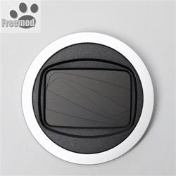 台灣製造Freemod半自動鏡頭蓋X-CAP2鏡頭蓋46mm鏡頭蓋Silver銀色