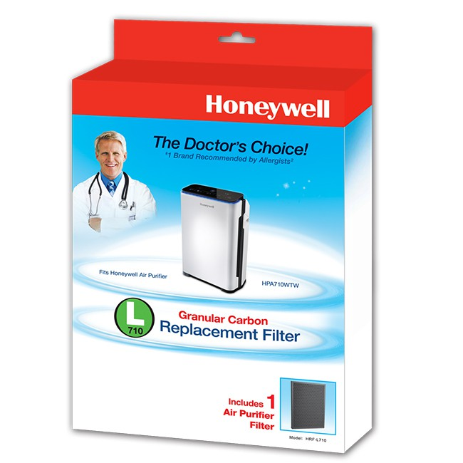 【Honeywell 漢尼威爾 】HRF-L710 顆粒狀活性碳濾網(1入)(適用機型: HPA710WTW)
