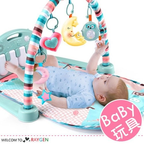 (限宅配)兒童腳踏鋼琴健身器玩具 音樂遊戲毯【3D220E652】