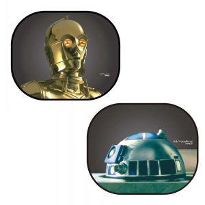 車之嚴選 cars_go 汽車用品【SW-3】NAPOLEX STAR WARS 星際大戰 機器人 側窗遮陽板 小圓弧