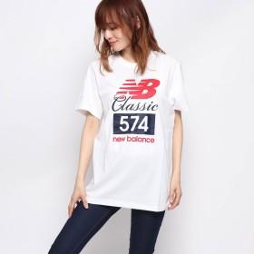 ラナン Ranan <NB>クラシック574Tシャツ (ホワイト)
