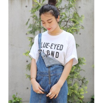 JOURNAL STANDARD 【THE DAY ON THE BEACH/ザ・デイ・オンザビーチ】6.5OZ CUTOFF TEE:Tシャツ ホワイト A フリー
