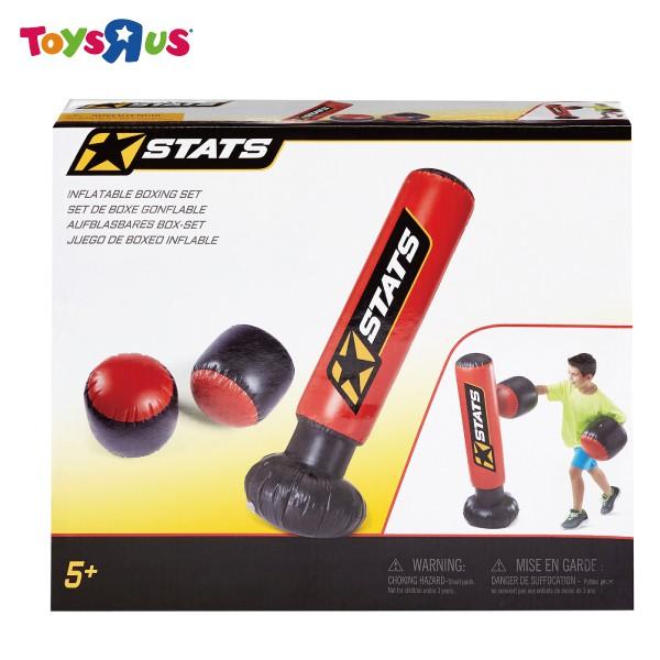 STATS 充氣拳擊套組 玩具反斗城