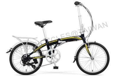 組裝完成【吉-KHS單車館】F20A-H7 功學社摺疊車 (自行車/單車/腳踏車/變速車) (F20AH7)