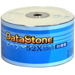 DataStone A級 簡約白 52X CD-R 白金片裸裝( 100片)