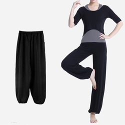 【Conalife】超柔軟舒適瑜珈燈籠清涼褲_三入
