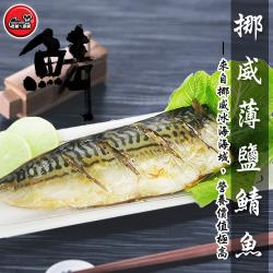 [老爸ㄟ廚房] 極上挪威鯖魚片 15片組 (140-170g/片)