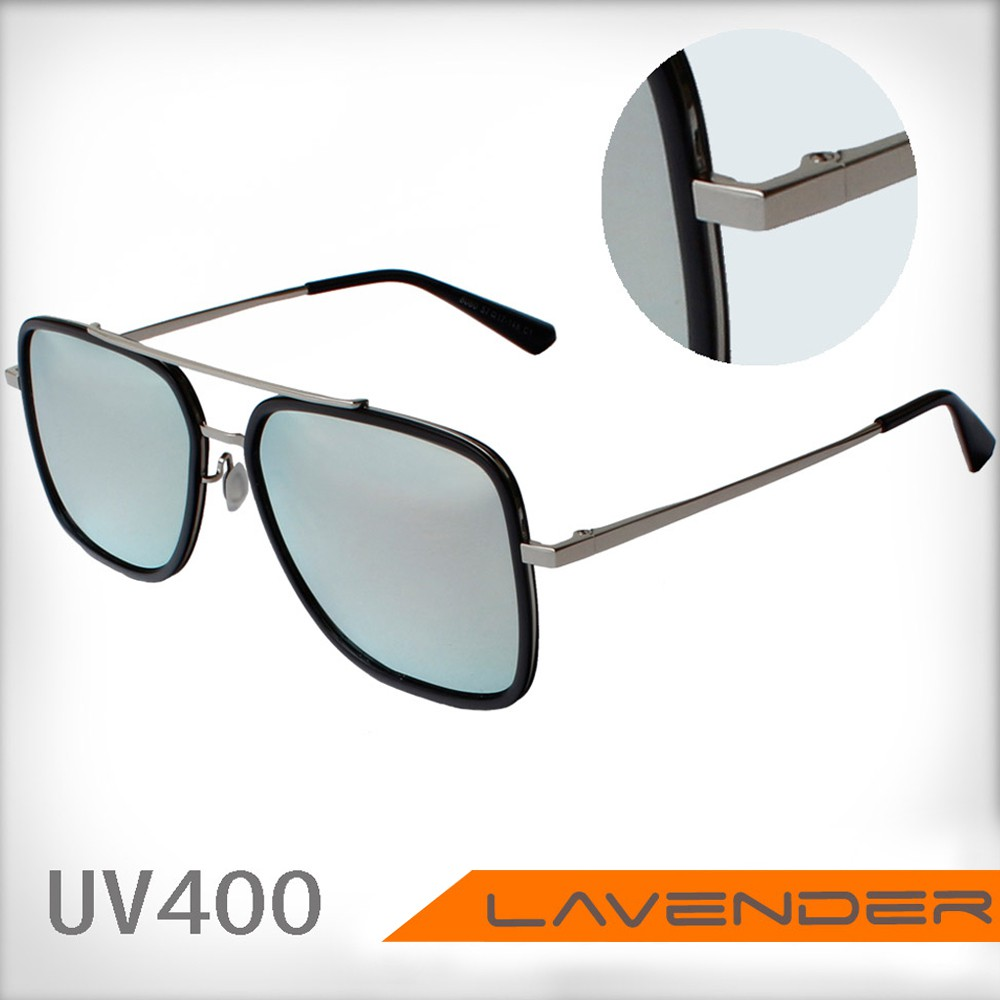 Lavender偏光片太陽眼鏡 8060 C1 金水銀-女