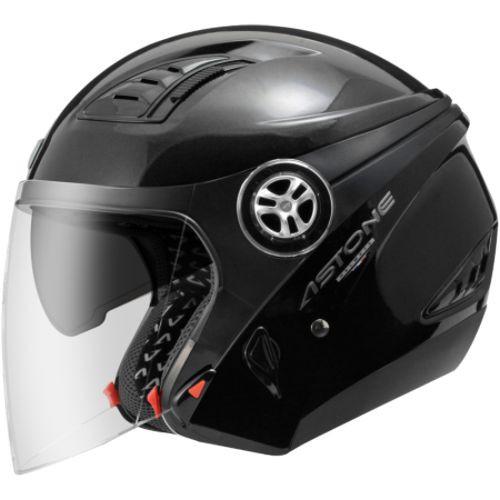 ASTONE DJ10C 標準 黑 內墨鏡片 可拆洗內襯 可安裝下巴 半罩 安全帽《比帽王》