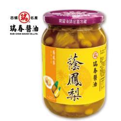 [瑞春]蔭鳳梨(350克*12瓶入)