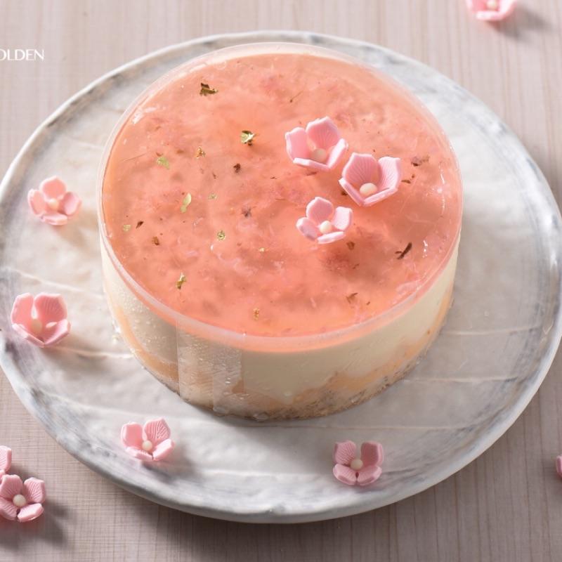 [久久津乳酪]6吋 櫻吹雪乳酪蛋糕