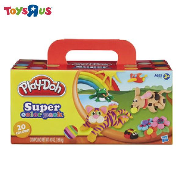 培樂多 繽紛20色黏土組 玩具反斗城