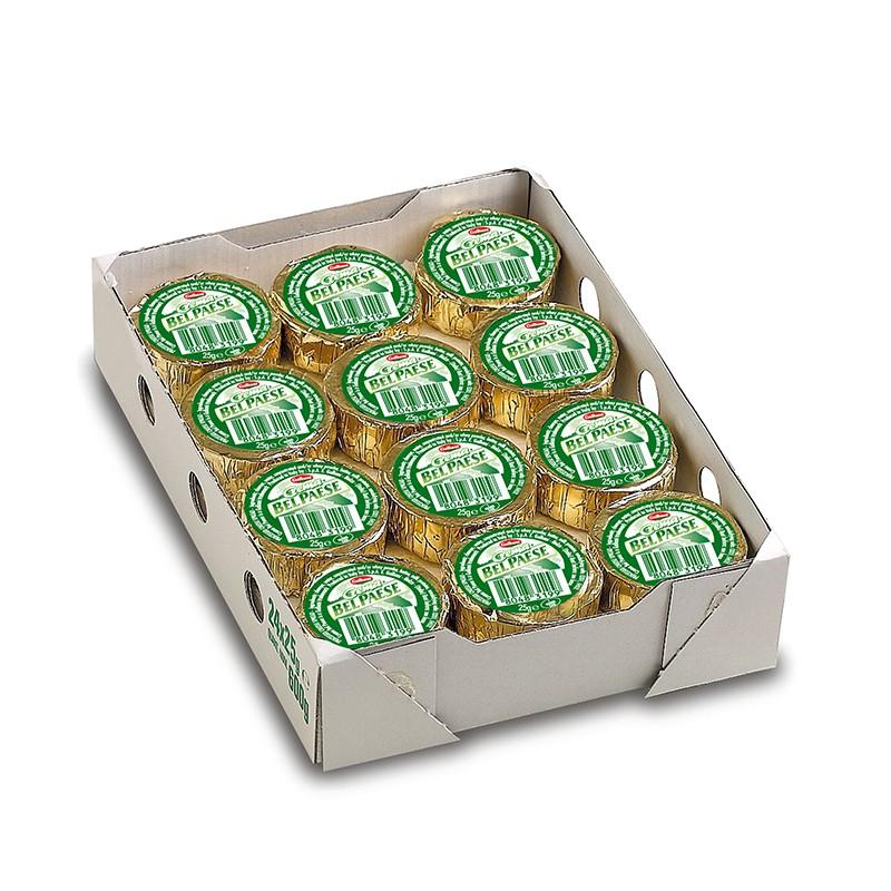 (冷藏)GALBANI BELPAESE 葛巴倪 貝爾佩斯乳酪 (25g*24顆/盒)