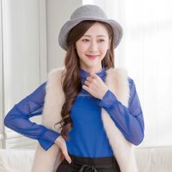 imaco 韓國東大門羊毛保暖針織毛線帽(灰)