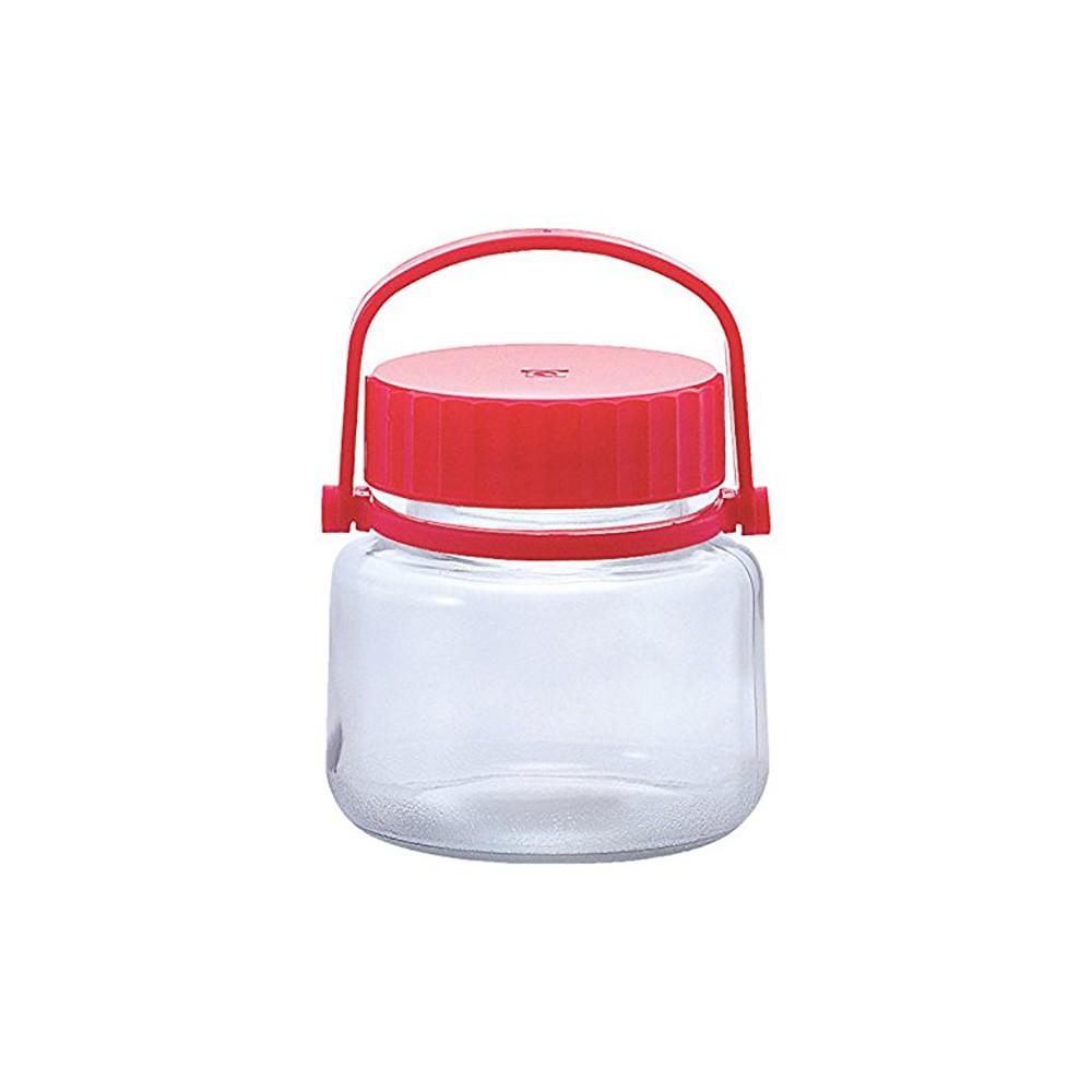 【日本ADERIA】梅酒醃漬玻璃罐 1L《WUZ屋子》可拆式提把 日本製