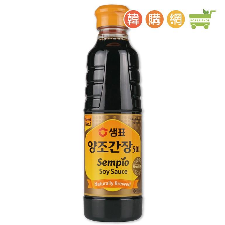 韓國SEMPIO膳府釀造醬油500ml【韓購網】