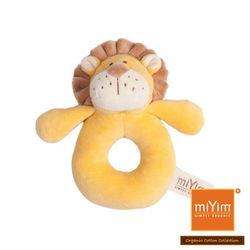 美國miYim有機棉手搖鈴(里歐獅子)