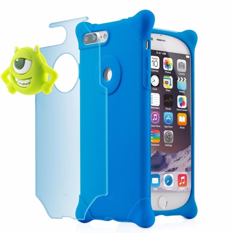 【Bone】iPhone 8 Plus / 7 Plus 四角防撞 泡泡保護套 - 大眼仔【Bone 官方】