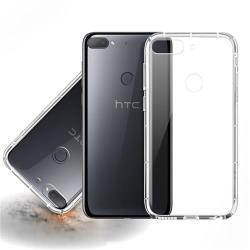 Xmart for HTC Desire 12+ 加強四角防護防摔空壓氣墊殼