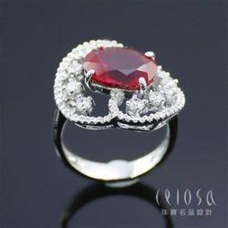 【Celosa珠寶】風情萬種紅寶戒指