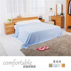 【時尚屋】[WG5]喬伊絲床箱型3件房間組-床箱+床底+床頭櫃1WG5-48W