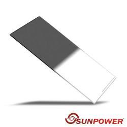 登錄送支架+轉接環~SUNPOWER Hard 100X150mm GND0.9 ND8 硬式 方型 玻璃 漸層鏡(湧蓮公司貨)
