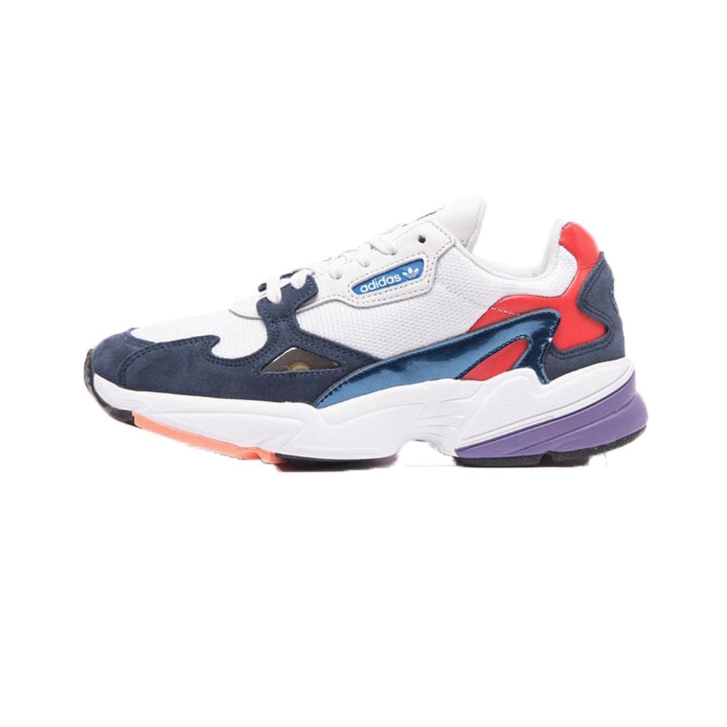 【Footwear Corner 鞋角】Adidas Originals Falcon W 愛迪達老爺鞋撞色款白藍型號:CG6246黑型號:B28129白型號:B28128版型偏大,建議小半號 【下標
