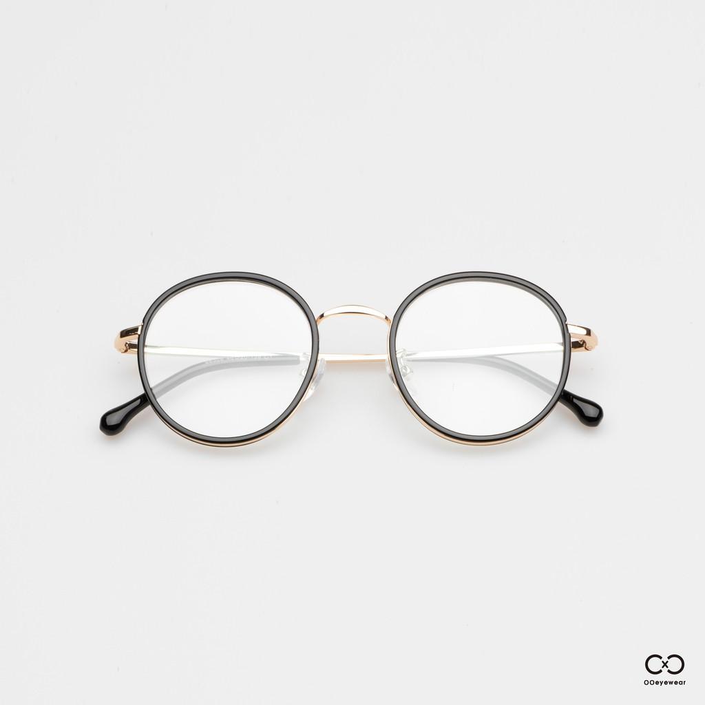 圈圈眼鏡 合金粗框圓框光學眼鏡 / 現貨 經典復古造型 百搭鏡框 鏡架 可配鏡 OOEYEWEAR OE0003