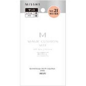 MISSHA(ミシャ) M クッションファンデーション マット NO.21(明るい肌色) SPF50+・PA+++ レフィル