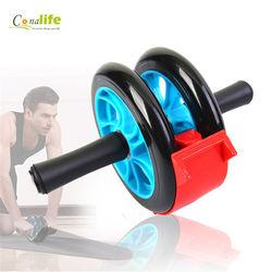 [Conalife]巨輪腹部鍛煉背闊肌健身輪附刹車