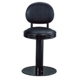 傢俱屋 瑪卡低吧台椅 黑
