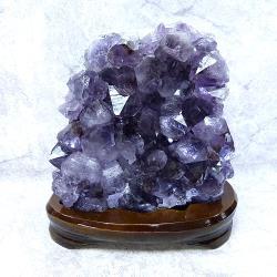 【寶峻晶石館】紫水晶鎮/紫晶座擺件 WA22《2.49kg》(贈淨化用玫瑰鹽粒)