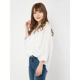 シャツ - CECIL McBEE 裾ドレープシャツ